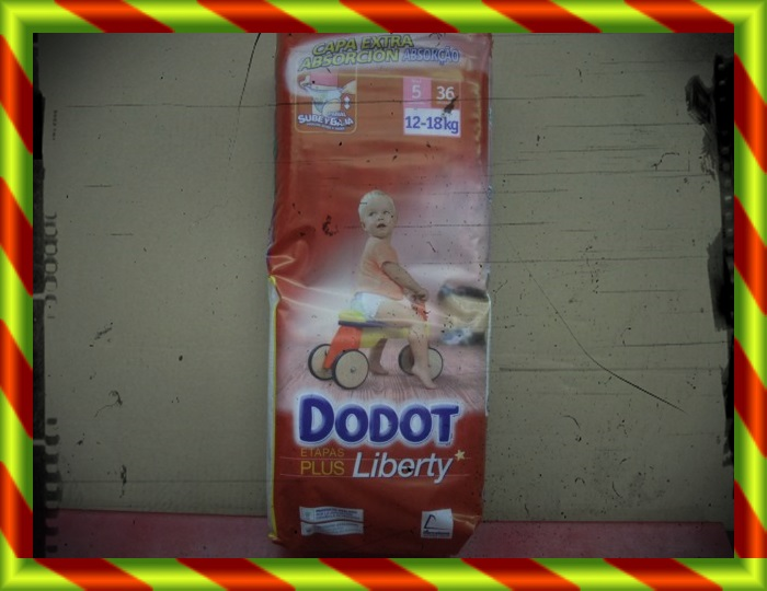 PAÑAL DODOT LIBERTY T 5 12-18 KG 36 UDS