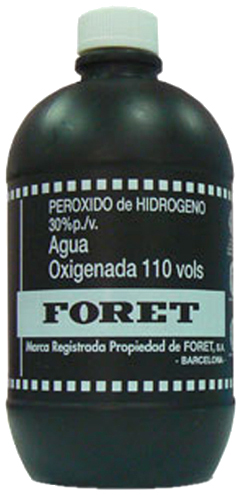 AGUA OXIGENADA FORET 110 VOL 500 ML