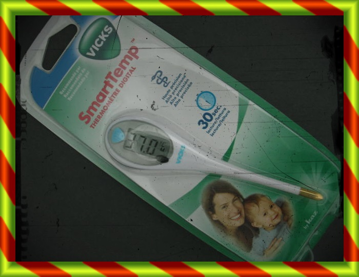 TERMOMETRO VICKS DIGITAL ALTA PRECISION