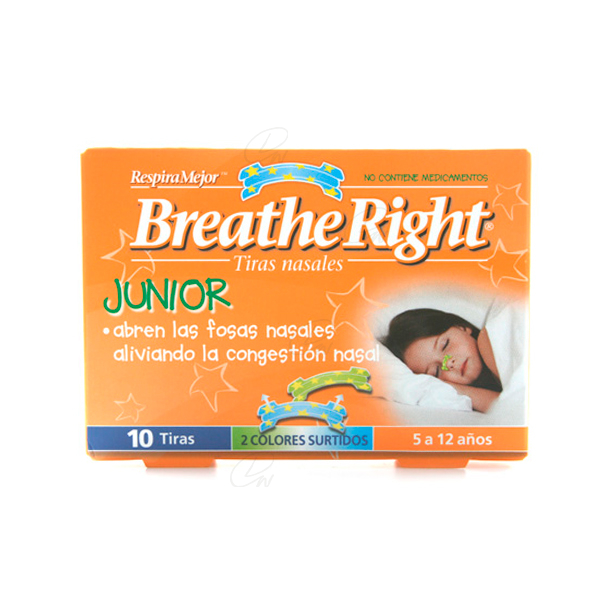 TIRA NASAL BREATHE JUNIOR10
