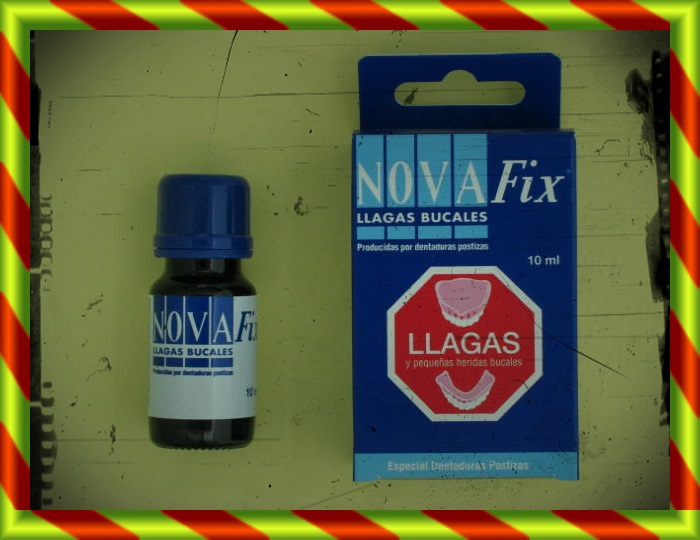 NOVA FIX LLAGAS BUCALES 10ML
