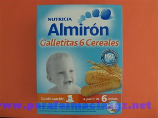 ALMIRON GALLETITAS 6 CEREALES [BP]