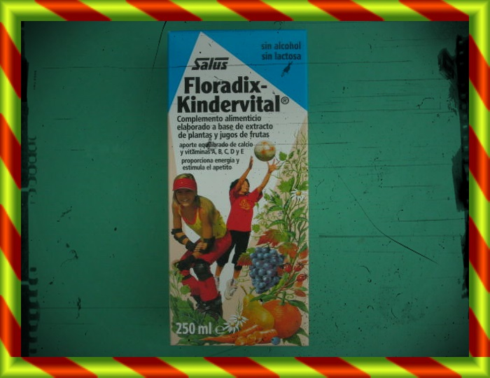 FLORADIX KINDERVITAL 250 ML [SF]