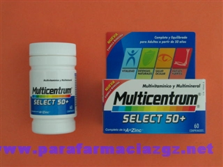 MULTICENTRUM SELECT 50+ 60CO