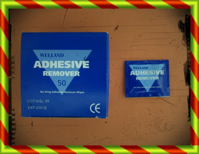 WELLAND ADHESIVE REMOVER 50 TO [SF]
