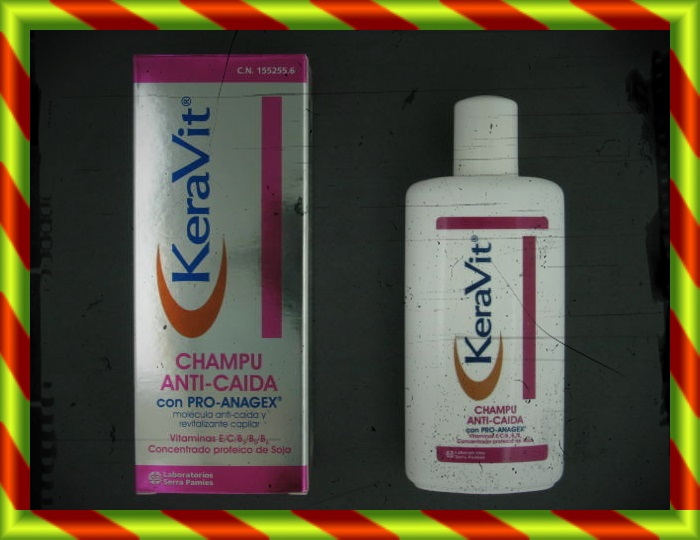 KERAVIT CHAMPU ANTICAIDA 200ML [SF]