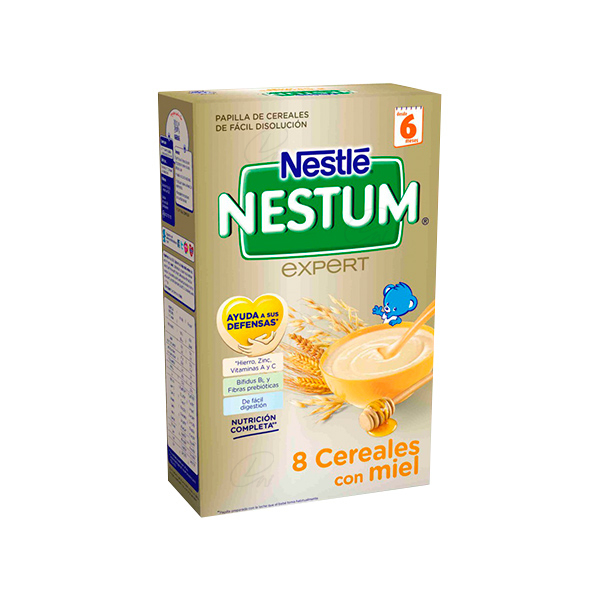 NESTLE 8 CEREAL MIEL 600 G