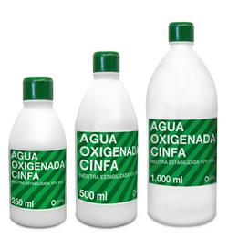 AGUA OXIGENADA CINFA 17 VOL 250 ML