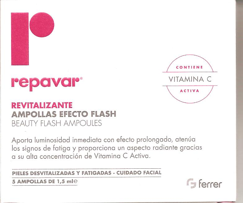 REPAVAR REVITALIZANTE FLASH 5 AMP