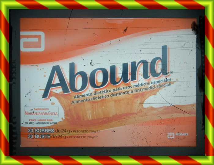 ABOUND NARANJA 30 SOBRES