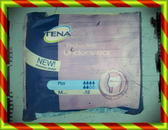 TENA PROTECTIVE PLUS MD 12UN