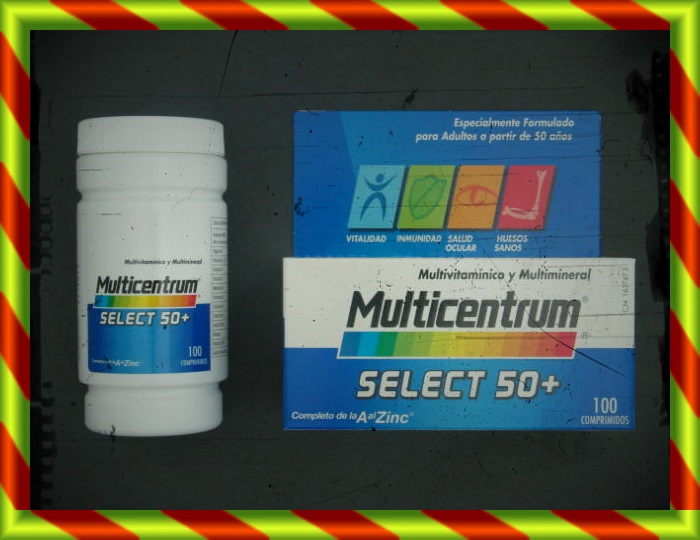 MULTICENTRUM SELECT 50+ 100C