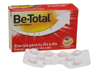 BE TOTAL MULTIVITAMINAS 40 C