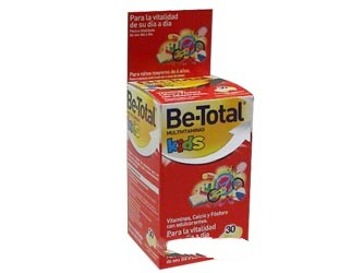 BE TOTAL KIDS MULTIVITAM 30C