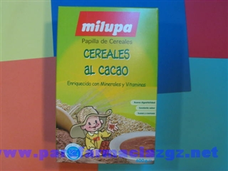 MILUPA CEREALES CACAO 600 GR