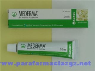 MEDERMA GEL REDUCTOR DE CICATRICES  20 G [BP]