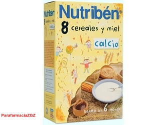 NUTRIBEN 8 CEREALES MIEL CALCIO 300 GR