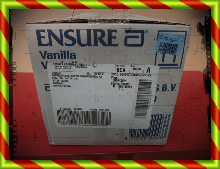 ENSURE HN 500 ML 15 BOTELLAS
