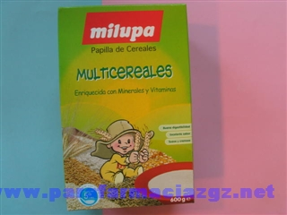 MILUPA MULTICEREALES 600 GR