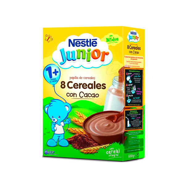 NESTLE CEREALES CACAO 600 GR
