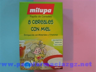 MILUPA CEREALES MIEL 600 GR