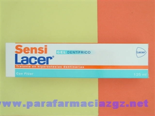 SENSILACER GEL DENTAL 125 ML