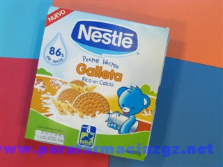 NESTLE POSTRE GALLETA 4X100
