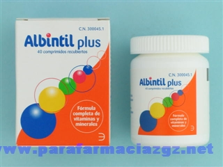 ALBINTIL PLUS 40 COMP