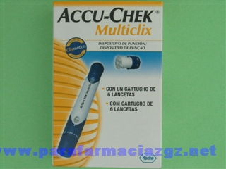 ACCUCHEK MULTICLIX PACK