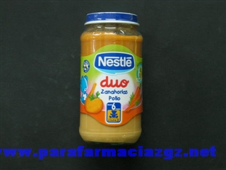NESTLE DUO ZANAHORIAS POLLO