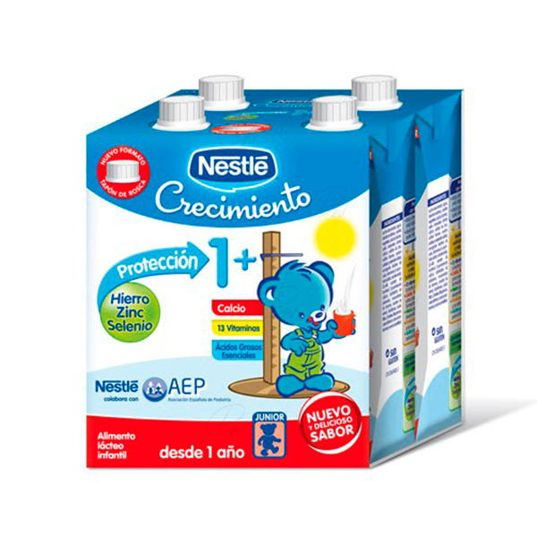 NESTLE JUNIOR CRECIM PROTE 1 L