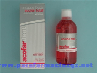 ACOFARDENT ENJUAGUE BUCAL ACCION TOTAL  400 ML