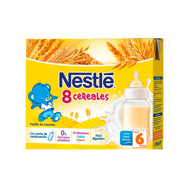 NESTLE 8 CEREAL BRICK 2X250ML