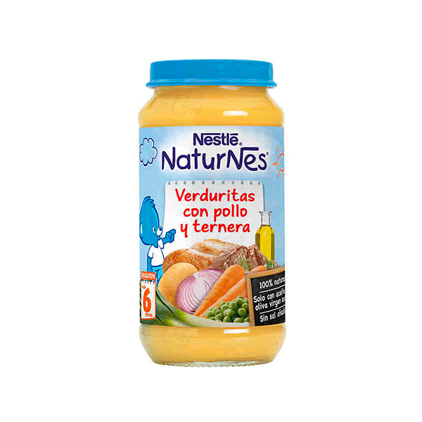 NESTLE 250 PURE VERD POLLO TER