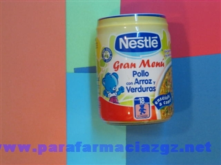 NESTLE POLLO ARROZ VERD 300