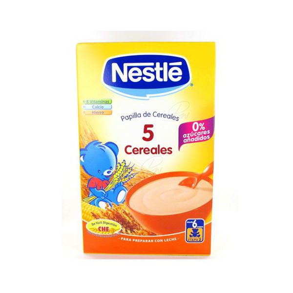 NESTLE 5 CEREAL 600 G