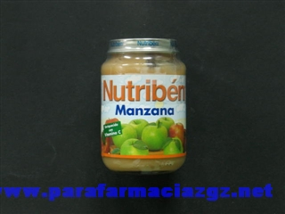 NUTRIBEN JR 200 GR MANZANA