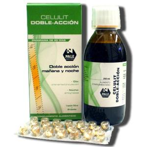 CELULIT doble accion jarabe 250ml. + 20perlas NALE