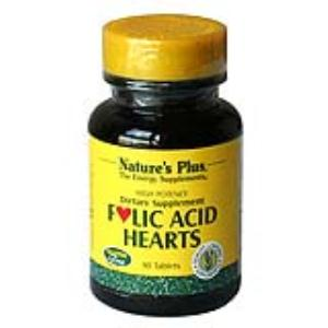 ACIDO FOLICO HEARTS 90comp. NATURE´S PLUS