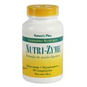 NUTRIZYME 90 comp. Masticable NATURE´S PLUS