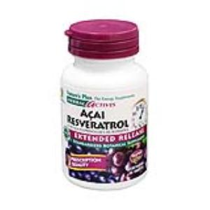ACAI RESVERATROL 30comp. NATURE´S PLUS