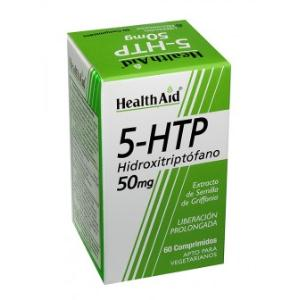 5-HTP (5-hidroxitriptofano) 50mg. 60comp. HEALTH AID