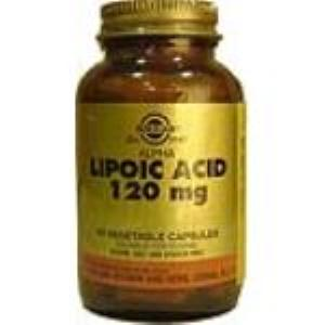 ACIDO ALFA LIPOICO 120mg. 60vegicaps