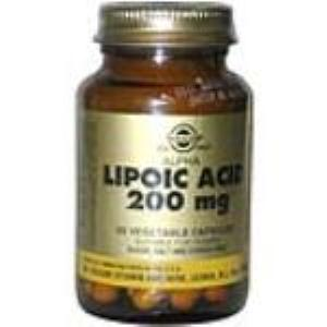ACIDO ALFA LIPOICO 200mg. 50vegicaps SOLGAR