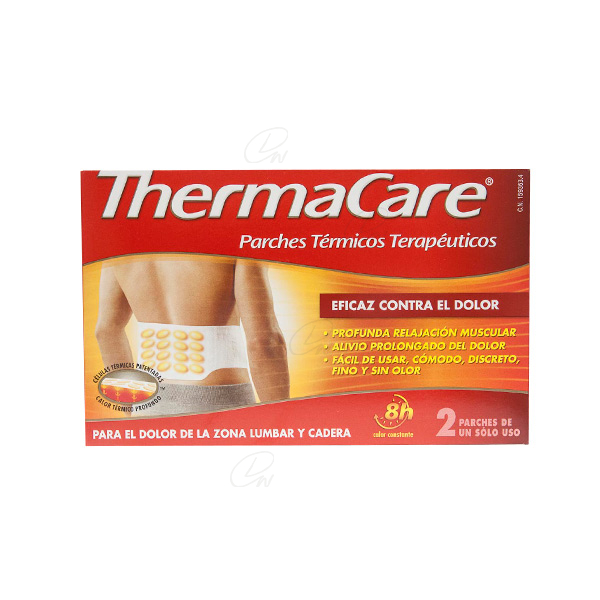 THERMACARE PARCHE TERMICO LUMBAR CADERA