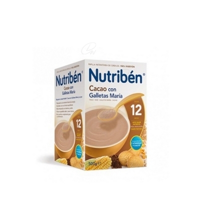 NUTRIBEN CACAO GALLETA MARIA 500 GR