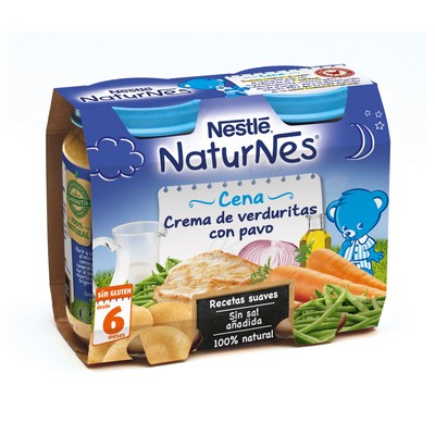 NESTLE 200 GR PC PURE VERDURAS PAVO 2 U