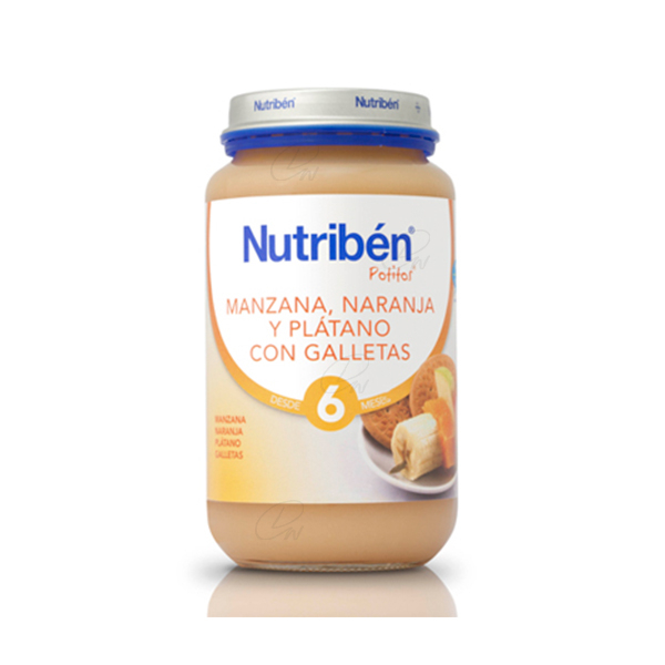 NUTRIBEN 250 GR MANZ NAR PLAT GALLETA