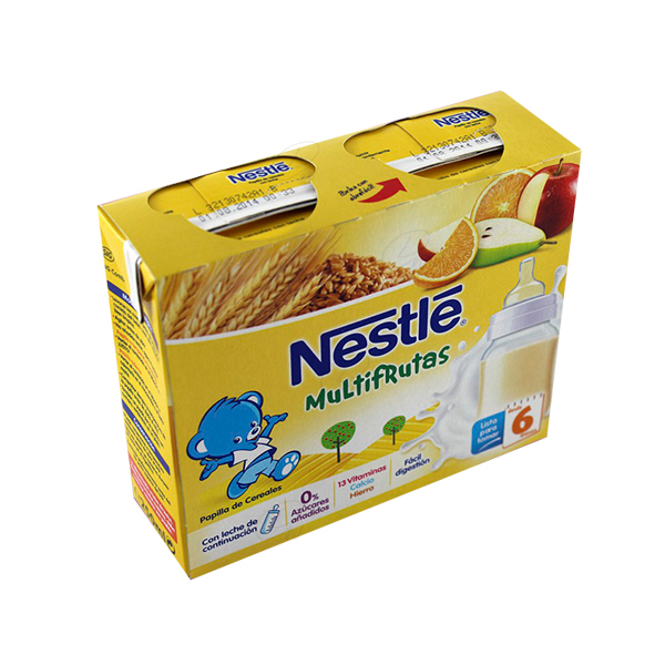 NESTLE MULTIFRUTAS BRIK 250 ML 2 UDS