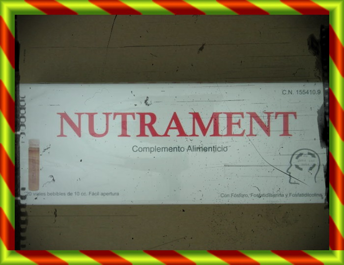 NUTRAMENT 20 VIALES 10 ML